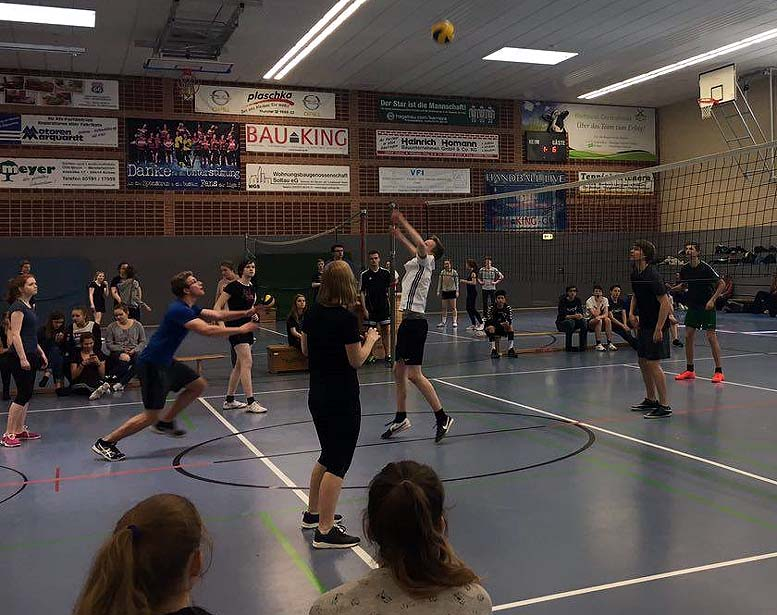 Volleyballturnier 2017 Jahrgang 10