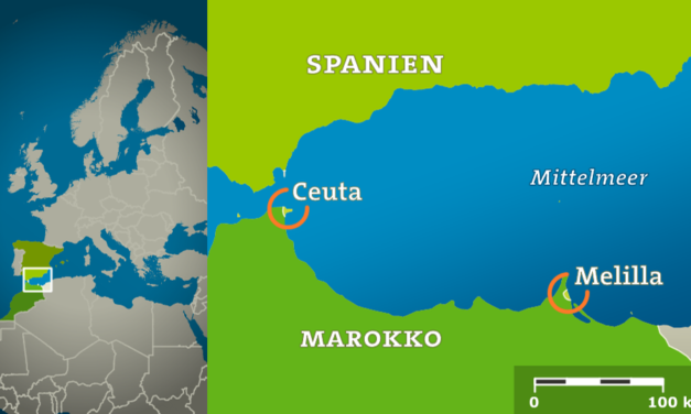 Flüchtlingssituation an der nordafrikanischen Küste