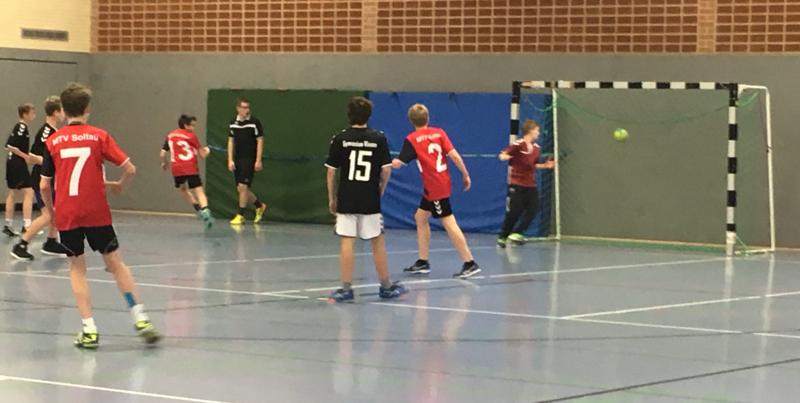 Jugend trainiert für Olympia im Handball (Bezirksentscheid)