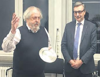 Herr Bauerschaper verabschiedet sich aus dem Vorsitz