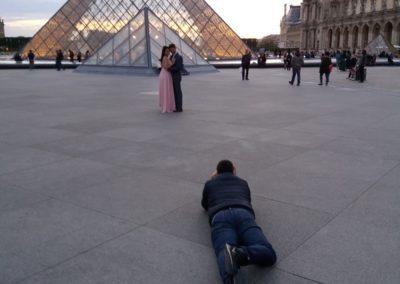 Louvre, Sonnenuntergang 1