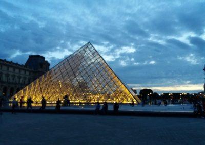 Louvre, Sonnenuntergang 2