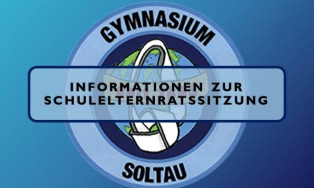 Informationen zur Schulelternratssitzung