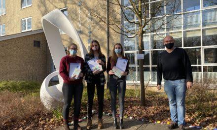 """Buchpreise am Gymnasium Soltau verliehen – Landeswettbewerb Ev. Religion """"Zukunft"""""""