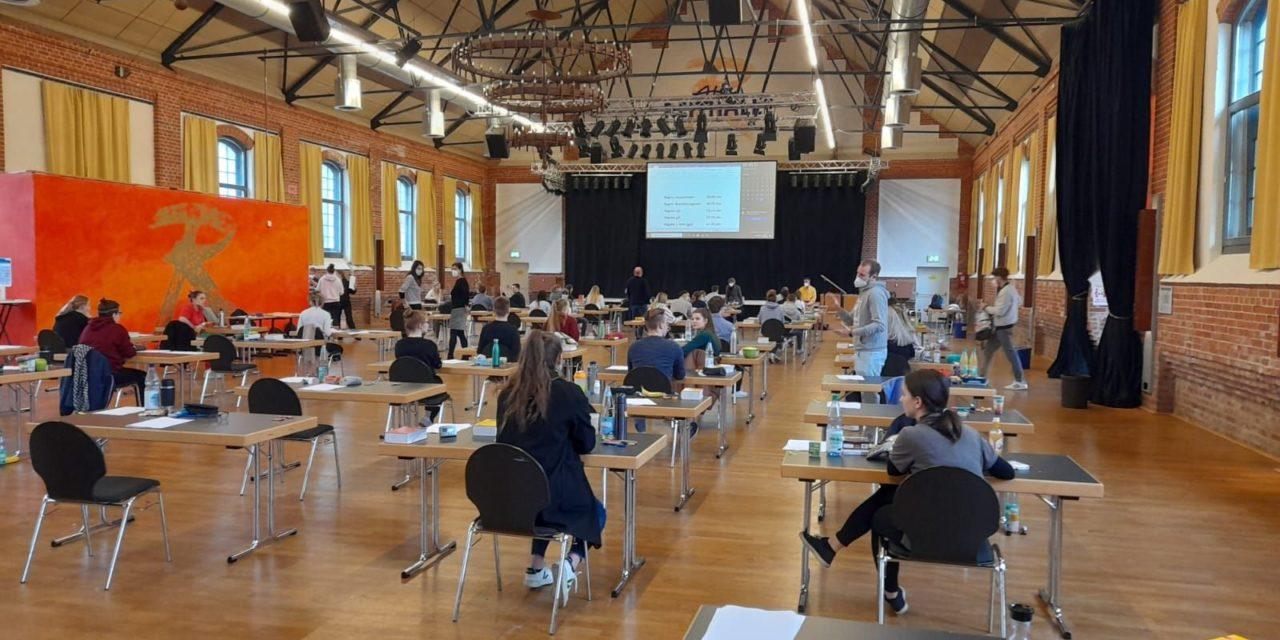 Abitur 2021 läuft problemlos!
