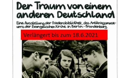 Neuer Termin: Ausstellung zum Widerstand der Weißen Rose verlängert!!!