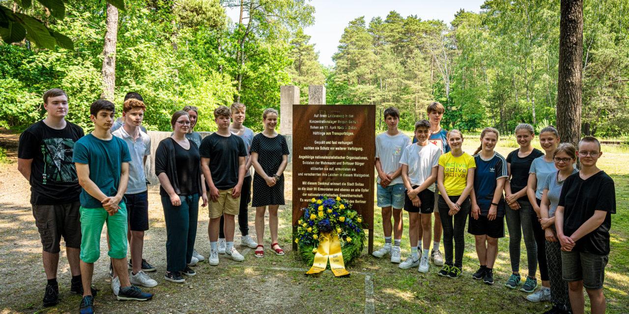 Gedenkveranstaltung für die Opfer des nationalsozialistischen Terrors