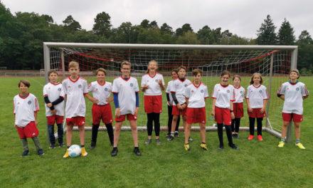 Teilnahme am Bundesfinale Fußball